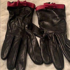 Genuine leather glove